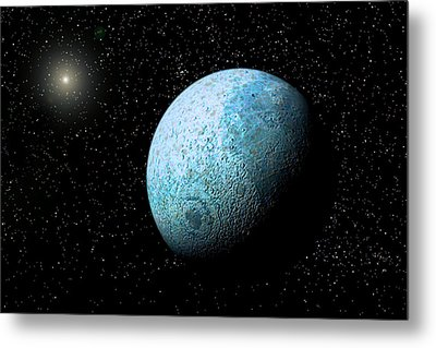 Sedna, Kuiper Belt Object Metal Print by Christian Darkin