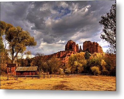 Sedona Metal Print by Marvin Walley