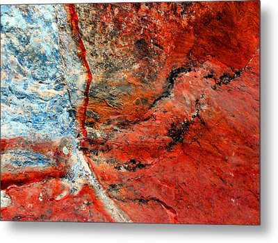 Sedona Red Rock Zen 1 Metal Print