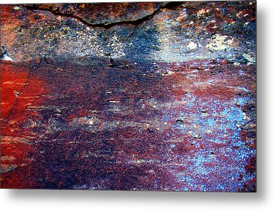 Sedona Red Rock Zen 53 Metal Print