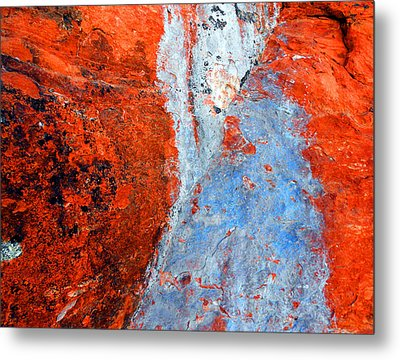 Sedona Red Rock Zen 70 Metal Print