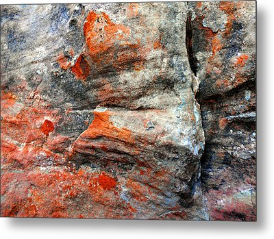 Sedona Red Rock Zen 73 Metal Print