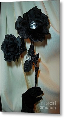 See Into Darkness's Beauty Metal Print by Jozy Me