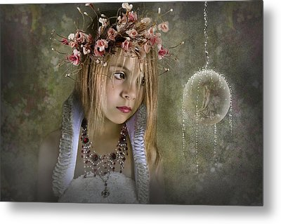 Seeing Fairies Metal Print