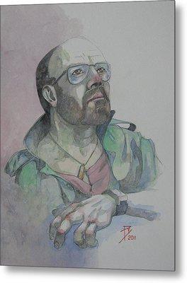 Self-portrait 2005 Metal Print by Ray Agius