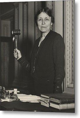 Senator Hattie W. Caraway, Democrat Metal Print by Everett