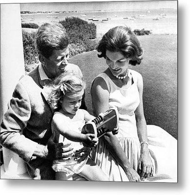 Senator John F. Kennedy, Caroline Metal Print by Everett