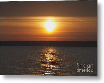 Metal Print featuring the photograph Seneca Lake Sunrise by William Norton