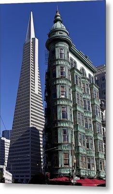 Sentinel Building San Francisco Metal Print by Garry Gay