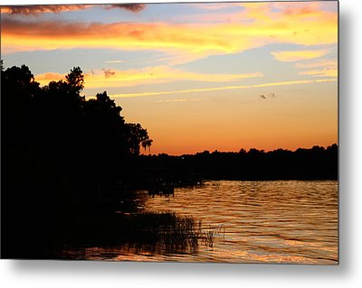 September Sky 12 Metal Print by Mike Wilber