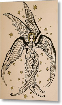 Seraphim Metal Print by Jackie Rock