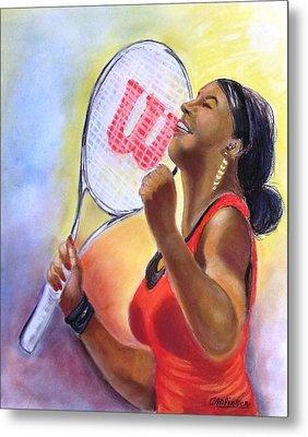 Serena Shines Metal Print