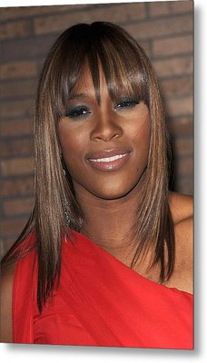 Serena Williams At Arrivals For Glamour Metal Print by Everett