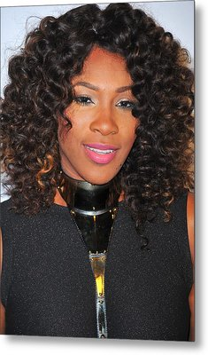 Serena Williams At Arrivals For Keep Metal Print