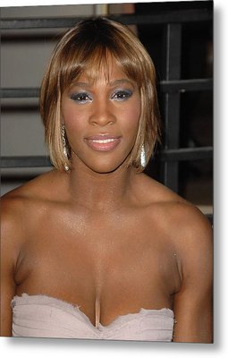 Serena Williams At Arrivals For Vanity Metal Print by Everett