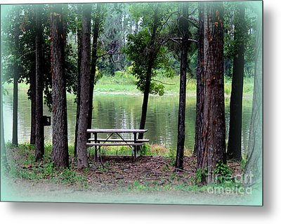 Metal Print featuring the photograph Serene Escape by Kathy  White