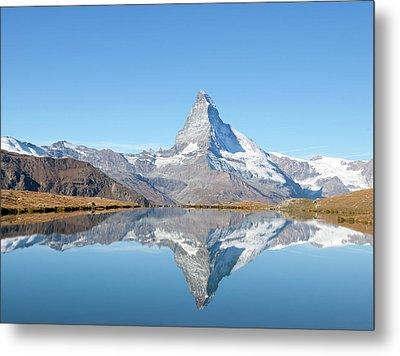 Serene Matterhorn Metal Print by Monica and Michael Sweet