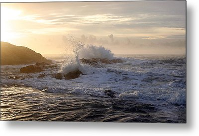 Metal Print featuring the photograph Serene Sunset  by Michael Rock