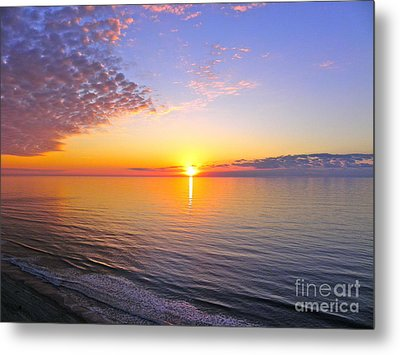 Metal Print featuring the photograph Serenity by Eve Spring