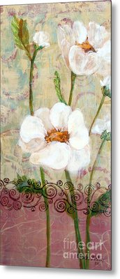 Metal Print featuring the painting Serenity by Susan Fisher