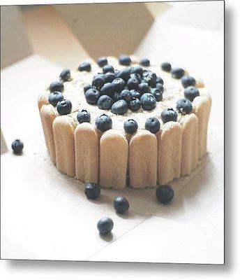 Serradura Birthday Cake Metal Print by Daisy*