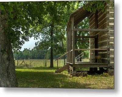 Settlers Cabin Arkansas 1 Metal Print by Douglas Barnett