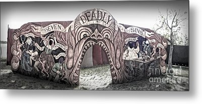 Seven Deadly Sins Metal Print by Gregory Dyer