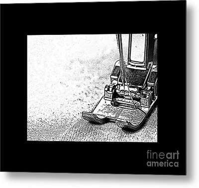 Sew On And So Forth Metal Print