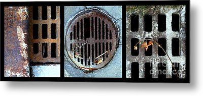 Sew Sewer Sewest Metal Print by Marlene Burns