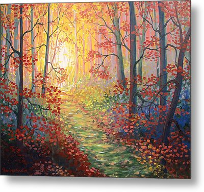 Shades Of A Dream Metal Print by Sharon Marcella Marston