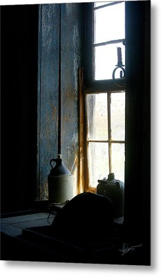 Metal Print featuring the photograph Shades Of Blue by Vicki Pelham