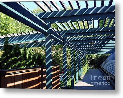 Metal Print featuring the photograph Shadow Composition by Bill Thomson