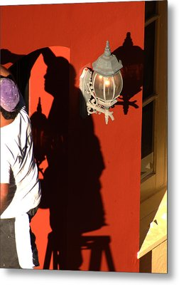 Shadow Painter Metal Print by Greg and Chrystal Mimbs