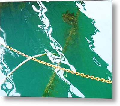 Metal Print featuring the photograph Shadows by Kelly Reber