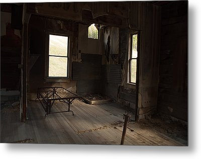 Metal Print featuring the photograph Shadows Of Time by Fran Riley
