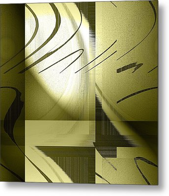Shadows Metal Print by Yanni Theodorou