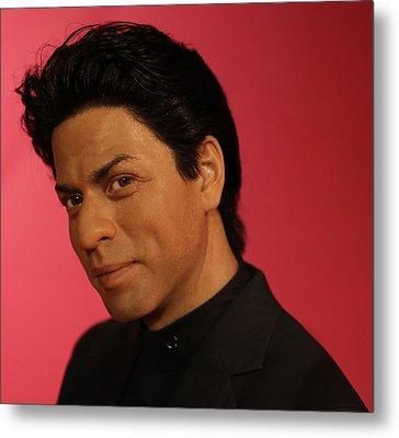 Shahrukh Khan - Shah Rukh Khan - Baadshah Of Bollywood - King Khan - The King Of Bollywood  Metal Print by Lee Dos Santos