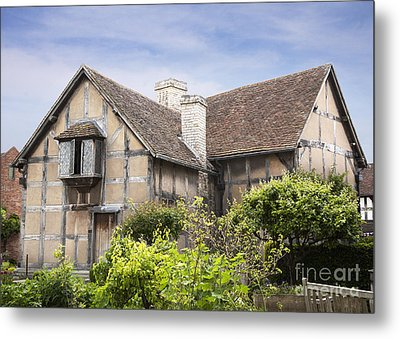 Shakespeare's Birthplace. Metal Print
