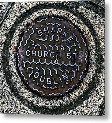 Sharkey Church Street Metal Print by John Rizzuto