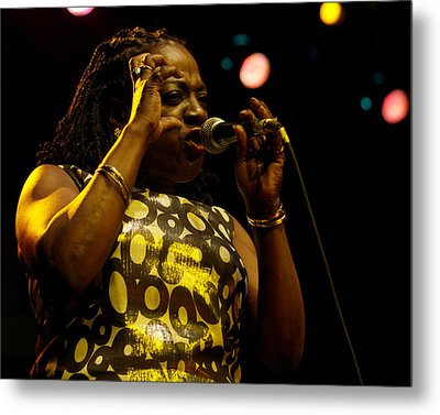 Sharon Jones Metal Print by Jeff Ross
