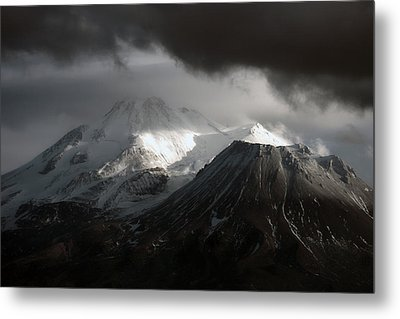 Shasta Mood Metal Print