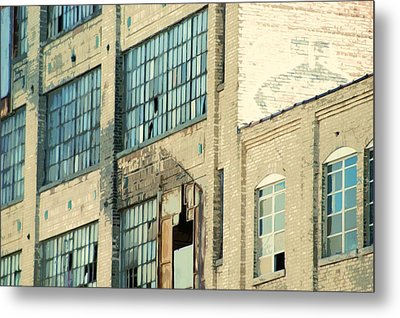 Shaw Walker Building Metal Print by Ritter Photography And Fine Art Images