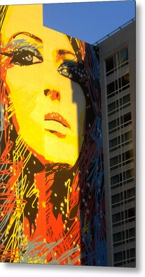 Metal Print featuring the photograph She Has Stars In Her Eyes by Sandy Fisher