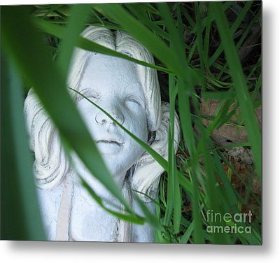 Metal Print featuring the photograph She Is There by Amy Sorrell