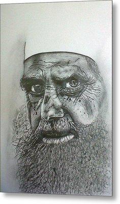 Sheikh I. Metal Print by Paula Steffensen