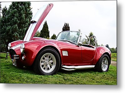 Metal Print featuring the photograph Shelby Cobra by Nick Kloepping