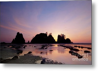 Shi Shi Beach Metal Print by Keith Kapple