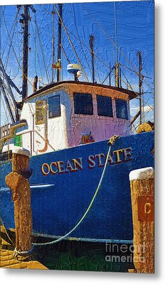 Ship Of State Metal Print by Diane E Berry