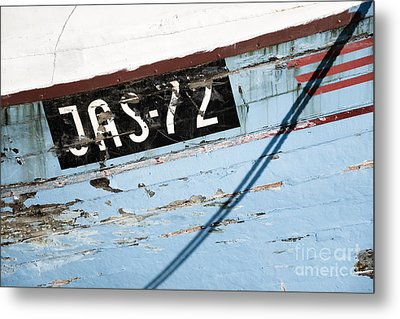 Ships' Number Metal Print by Agnieszka Kubica