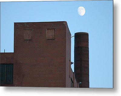 Shoot The Moon Metal Print by Artist Orange